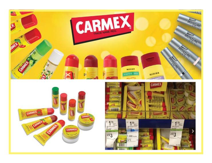carmex拼