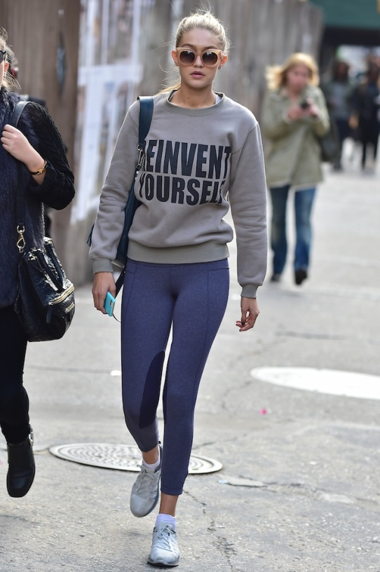 NEW YORK, NY - OCTOBER 21: Gigi Hadid is seen in Soho on October 21, 2014 in New York City. (Photo by Alo Ceballos/GC Images)