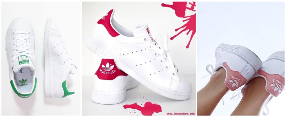 Adidas Stan Smith,有很多顏色